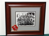 1947 RYDER CUP TEAM WITH SIGNATURES OF THE TEAM INCLUDING WALTER HAGEN. WITH THE BLAZER PATCH