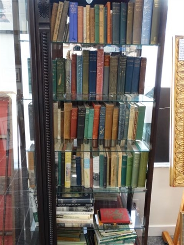 120 RARE BOOKS IN ONE COLLECTION, PLEASE SEE PICTURES FOR THE LIST OF BOOKS - INCLUDED ARE SOME OF THE FINEST VOLUMES EVER OFFERED