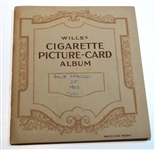 1923 WILLS CIGARETTE PICTURE CARDS ALBUM, 25 GOLF STROKES BY ARTHUR G.HAVERS.