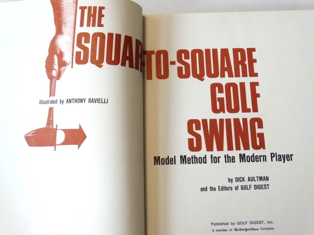 Lot Detail The Square To Square Golf Swing Signed By