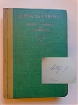 SIGNED BY BOBBY JONES, FIRST EDITION 1927 BOOK, DOWN THE FAIRWAY