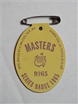 1965 MASTERS SERIES BADGE