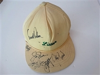SIGNED LITTER HAT BY ARNOLD PALMER, JACK NICKLAUS AND OTHERS