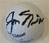 SIGNED BY JACK NICKLAUS GOLF BALL