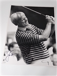 "SIGNED JACK NICKLAUS PHOTOGRAPH , SIZE 11"" X 14"""