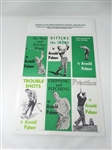 COLLECTION OF 6 ARNOLD PALMER INSTRUCTIONAL BOOKLETS