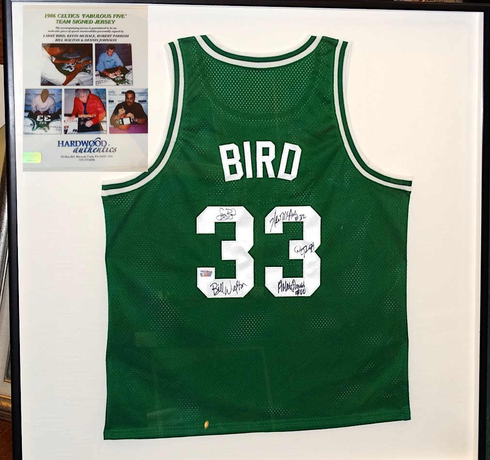 big sale 8b14e 05061 Lot Detail - 1986 CELTICS